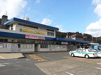 Saiki Station - Saiki Station in 2013