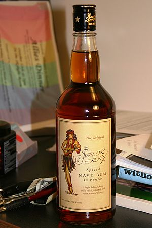 An unopened bottle of Sailor Jerry's Spiced Na...