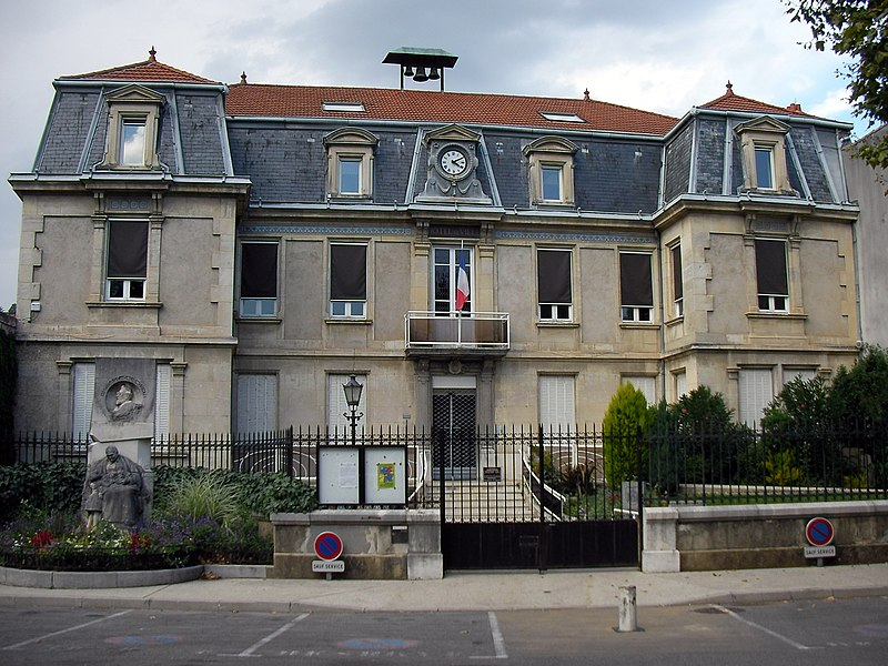 Town hall of Saint-Péray (Ardèche/France)