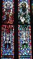 Saint Anthony of Padua Catholic Church (Dayton, Ohio) - stained glass, Sts. Athanasius & Gregory Nazianzus.JPG