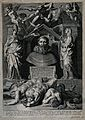 Saint Augustine of Hippo. Line engraving by P. de Jode the y Wellcome V0031638.jpg