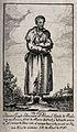 Saint Benedict Joseph Labre. Etching. Wellcome V0032503.jpg