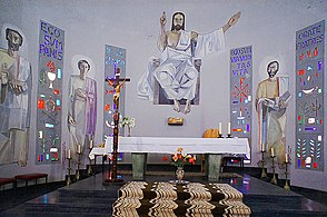 Saint Francis of Assisi Cathedral, (interior) El Aaiun, Western Sahara 8.jpg