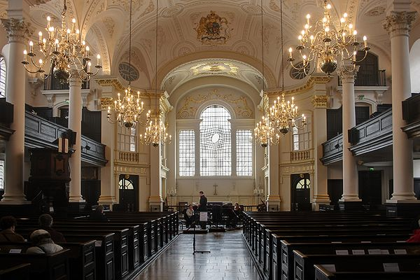 Saint Martin in the Fields, London.