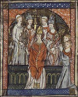Frankish bishop and saint