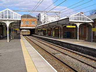 Sale tram stop - Sale is one of the network's converted heavy-rail stations