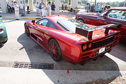 Saleen S7 2007 Twin Turbo LSideRear CECF 9April2011 (14597584641).jpg