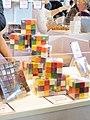 Salon chocolat Paris 2017 Rubiks cube 2879.jpg
