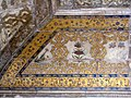 Saman Burj or Shah Burj inetrior-Decorations with paintings in gold and multi colored precious inlay work.jpg