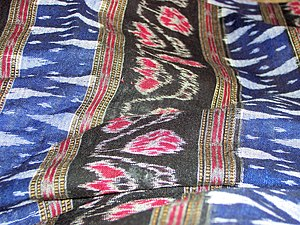Ikat - Double ikat Sambalpuri Saree, India