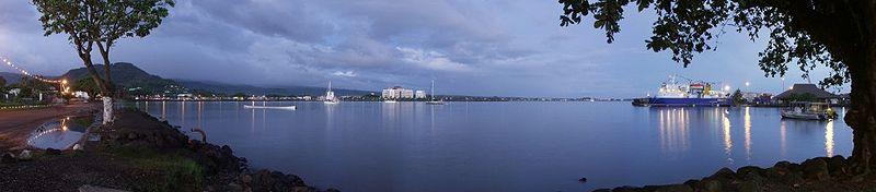 File:Samoa - Apia Harbour at dawn.jpg
