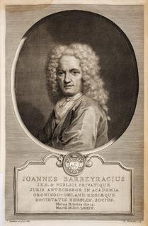 Jean Barbeyrac French jurist