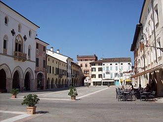 Pier Paolo Pasolini - Piazza del Popolo in San Vito al Tagliamento