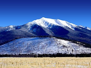 Coconino National Forest - San Francisco Peaks, winter