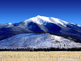 Humphreys Peak - Humphreys Peak in winter 2004