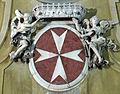 San Giovannino dei Cavalieri stemma Cavalieri di Malta.JPG