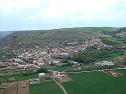 View of San Martín de Rubiales from Socastillo, 2007