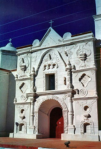 Franciscan missions to the Maya - The chapel of Mission San Pedro y San Pablo del Tubutama
