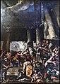 San Rocco Venezia (Interno) - Soffitto di Giovanni Antonio Fumiani (1675).jpg