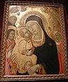 Sano di pietro, madonna col bambino, angeli e santi.JPG