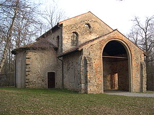 Castelseprio (archaeological park) - Church of Santa Maria foris portas