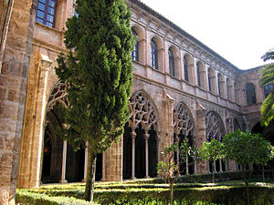 Levantine Gothic - Convent of Sant Doménec, in the city of Valencia.
