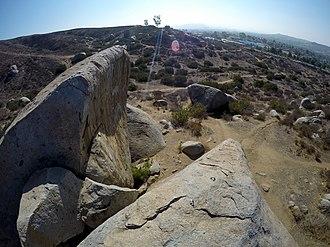 Santee Boulders - Image: Santee Boulders