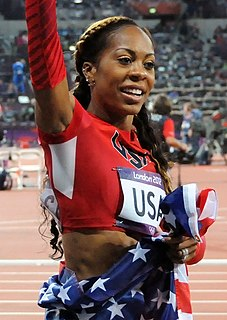 Sanya Richards-Ross Jamaican-American track and field athlete