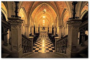 São Paulo Cathedral - Crypt of São Paulo Cathedral.