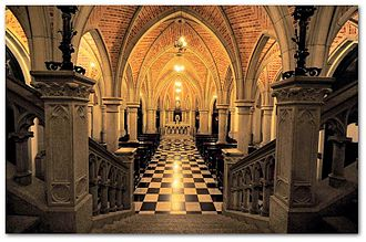 São Paulo Cathedral - Crypt of São Paulo Cathedral.