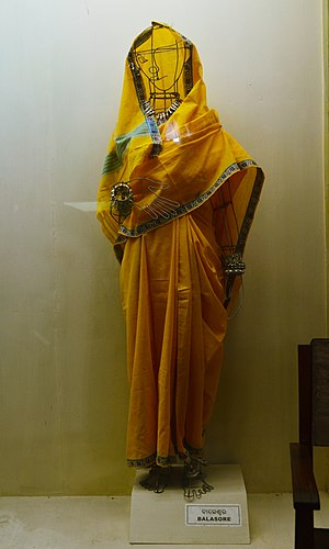 Balasore district - Sari draping style of Balasore region
