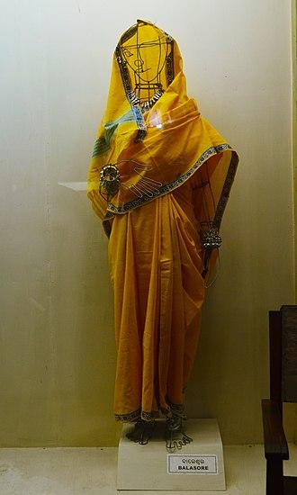 Balasore district - Sari draping style of Balasore region