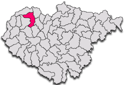 Location in Sălaj County