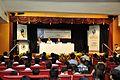 Saroj Ghose Addressing - Opening Ceremony - Rabindranather Bigyan Bhabna Exhibition - BITM - Kolkata 2015-05-09 6364.JPG