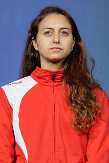 Sarra Besbes Tunisian fencer