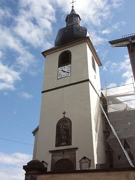 Sarraltroff (Moselle) église