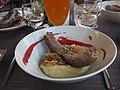 Sausage at restaurant Milda.jpg