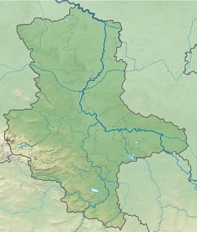 (Voir situation sur carte: Saxe-Anhalt)