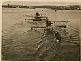 Schetinin M-9 seaplanes being towed (8590839906).jpg