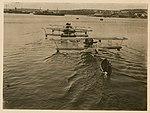 Schetinin M-9 seaplanes being towed (8590839906).jpg