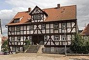 Schlitz Kirchplatz Fachwerkhaus DSF7930