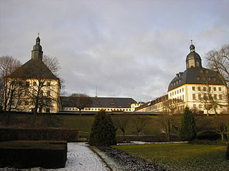 Saxe-Gotha - Gotha: Schloss Friedenstein