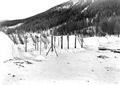 Schneeschanze nach dem Beschuss - CH-BAR - 3239404.tif
