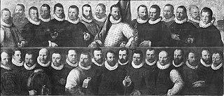 Schutters van de compagnie van kapitein Reynst Pietersz. en vaandrig Claes Claesz. Kruys