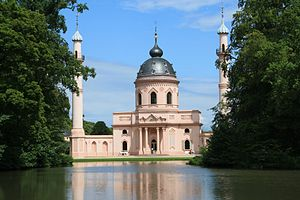Charles Theodore, Elector of Bavaria - Mosque at Schwetzingen Castle.