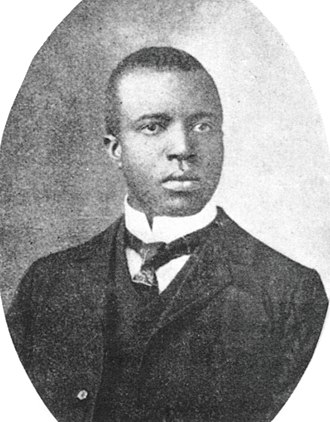 Scott Joplin wrote the first known published composition to include a musical sequence built around specifically notated tone clusters. Scott Joplin.jpg