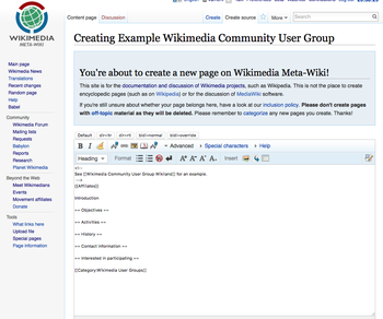 Screenshot of new Wikimedia user group page on Meta-Wiki.png