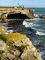 Sea cave portland bill dorset.JPG