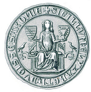 Elizabeth of Holstein-Rendsburg - Seal of Elizabeth of Holstein-Rendsburg