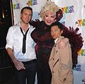 Sean Patrick Lewis, Drag queen Momma, Alec Mapa at 7th Annual WeHo Awards 1.jpg